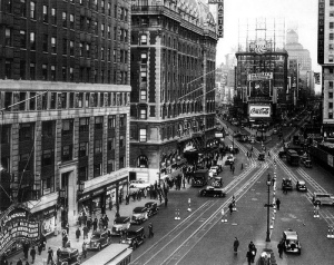 Times Square 1935